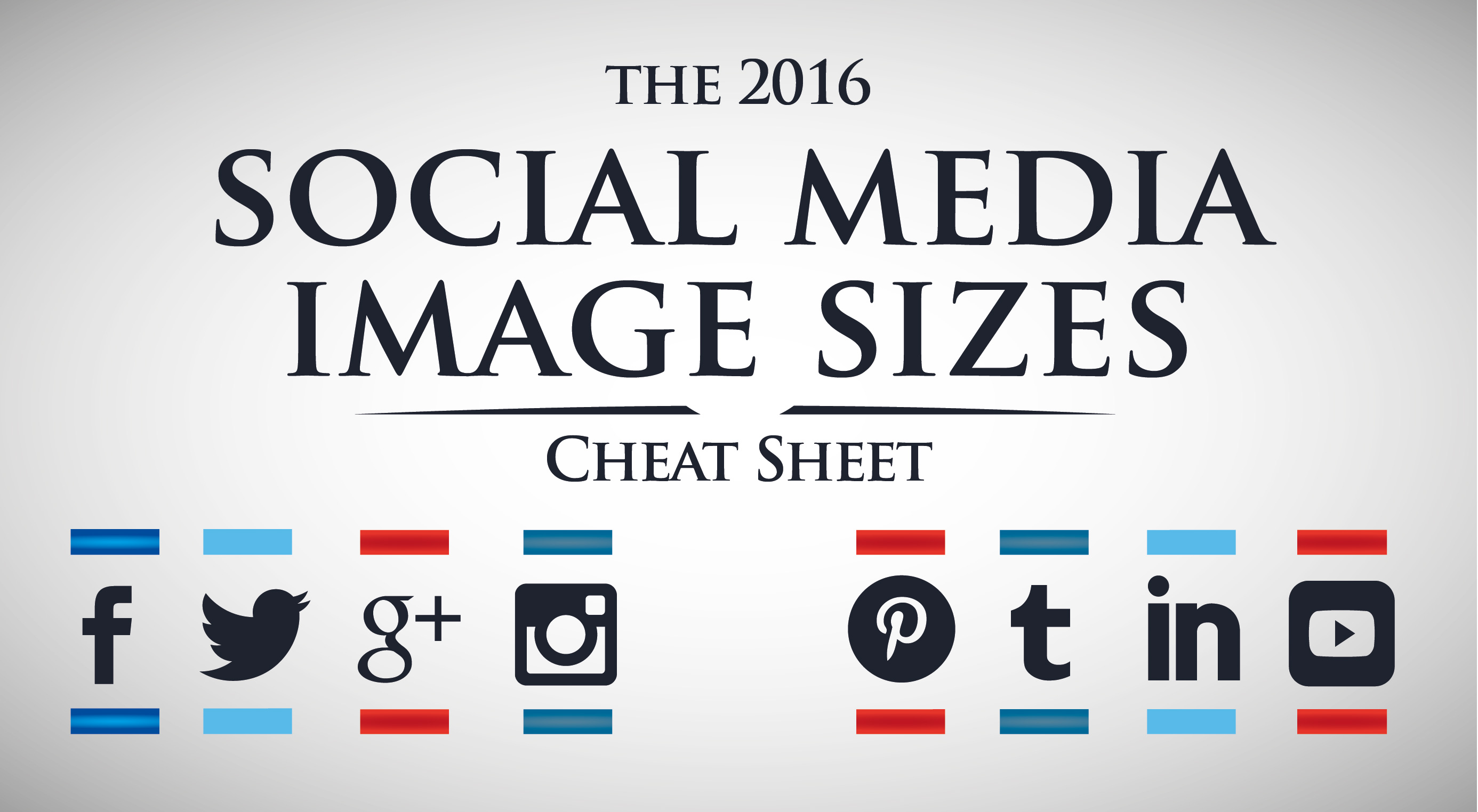 Social media images – cheat sheet